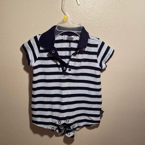 Baby boys polo outfit